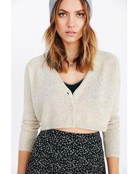 Kimchi Blue | Mixed-Stitch Cardigan Sweater | Lyst