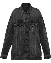 Alexander Wang | Daze Oversized Denim Jacket | Lyst