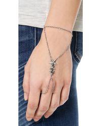 Pamela Love - Stardust Handpiece - Antique Silver - Lyst