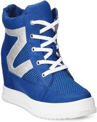 Mojo Moxy - Dolce By Happy High-top Wedge Sneakers - Lyst