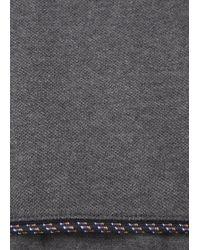Kris Van Assche - Grey Piqué Jersey T-Shirt - Lyst