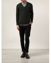 A.P.C. Straight Trousers - Lyst