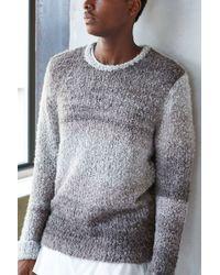 Vanishing Elephant Boucle Spacedye Crew-Neck Sweater brown - Lyst