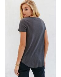 Silence + Noise - Explorer Scoop-Neck Tee - Lyst