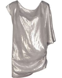 MM6 by Maison Martin Margiela Blouse - Lyst