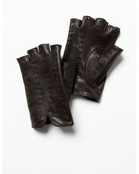 Free People Cruz Leather Driver Glove - Lyst