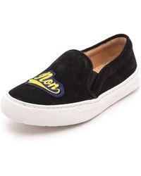 Markus Lupfer - Slip On Sneakers Black - Lyst