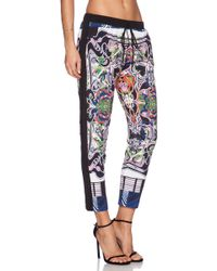 Clover Canyon Swirling Scarf Drawstring Pants - Lyst