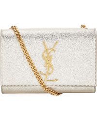 Saint Laurent Small Monogramme Satchel - Lyst