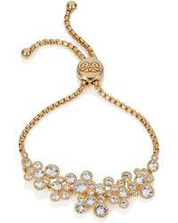 Caroline Creba   18ct Rose Gold Plated Titania Friendship Bracelet   Lyst