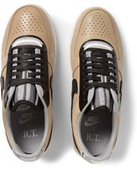 Nike Riccardo Tisci Air Force 1 Low Leather Sneakers - Lyst