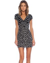 Parker Serena Sequin Dress - Lyst
