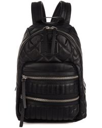 Marc By Marc Jacobs Pack Rat Quiltedleather Backpack - Lyst