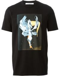 Givenchy Abstract Print T-shirt - Lyst