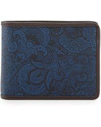 Robert Graham - Slim-fold Leather Wallet - Lyst
