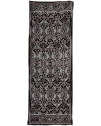 Liberty - Brown Ianthe Devore Scarf - Lyst