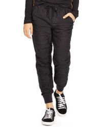 Pink Pony - Quilted Jogger Pant - Lyst
