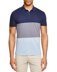 Theory   Sandhurst Repute Color Block Slim Fit Polo Shirt - 100% Bloomingdale's Exclusive   Lyst