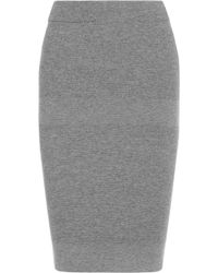 Reed Krakoff | Cashmere Wool and Silkblend Pencil Skirt | Lyst