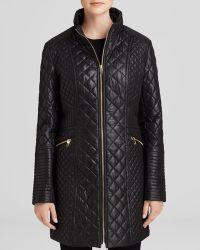 Via Spiga - Coat - Zip Front Quilted - Lyst