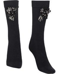 Dorothee Schumacher   black High Heel Socks Jewled   Lyst