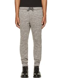 Diesel Heather Gray Pascales Lounge Pants - Lyst