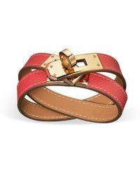 Hermès Kelly Double Tour pink - Lyst
