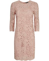 DKNY Lace Sheath Dress - Lyst