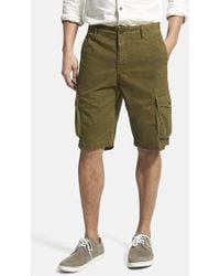 Lucky Brand Men'S 'Vista' Cargo Pocket Shorts - Lyst
