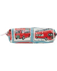 Cath Kidston - Red London Buses Pencil Case - Lyst