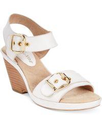 Bella Vita Jinny Wedge Sandals - Lyst