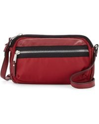 French Connection - Piper Faux-leather Trim Crossbody Bag - Lyst