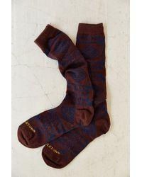 Pendleton X Uo Knee High Boot Sock - Lyst