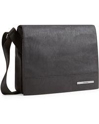 Calvin Klein White Label Riley City Messenger Bag black - Lyst