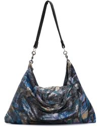 Laura B - Graffiti Shine Maxi Shoulder Bag - Lyst
