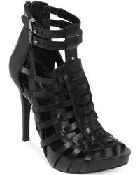 BCBGeneration Gemma Caged Platform Sandals - Lyst