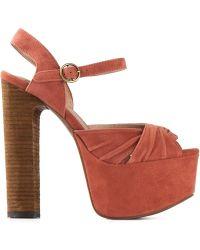 Jeffrey Campbell 'Donnas' Platform Sandals - Lyst