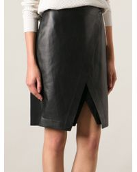 Theyskens' Theory Asymmetric Skirt - Lyst
