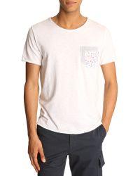 Menlook Label Kent White T-Shirt - Lyst