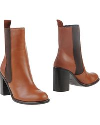 See By Chloé Ankle Boots - Lyst