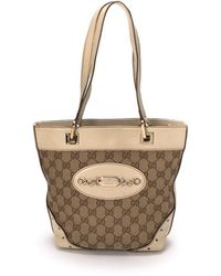 Gucci Pre-Owned Tote Bag beige - Lyst