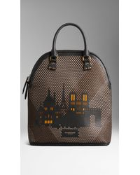 Burberry The Bloomsbury with Paris City Motif - Brown
