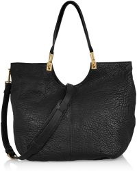 Elizabeth And James Cynnie Textured-leather Tote - Lyst