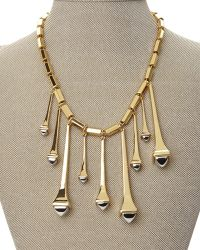 Rachel Zoe - Gold-Plated Spike Necklace - Lyst