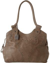 Frye Vintage Stud Shoulder Bag - Lyst