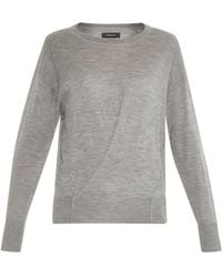 Isabel Marant Ben Cashmere And Silk-Blend Sweater - Lyst