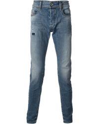 Diesel Blue Sleenker Jeans - Lyst