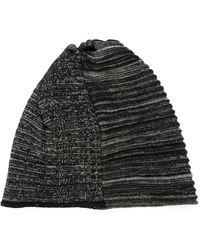 Lost & Found - Striped Knit Beanie - Lyst