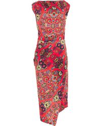 Vivienne Westwood Anglomania Redman Dynasty-print Dress - Lyst