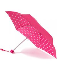 Lulu Guinness Pink Lips Tiny Umbrella pink - Lyst